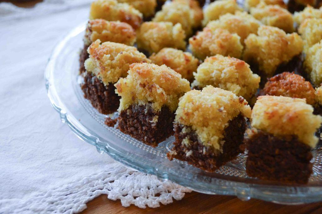 Kokos Brownie Kekse 3