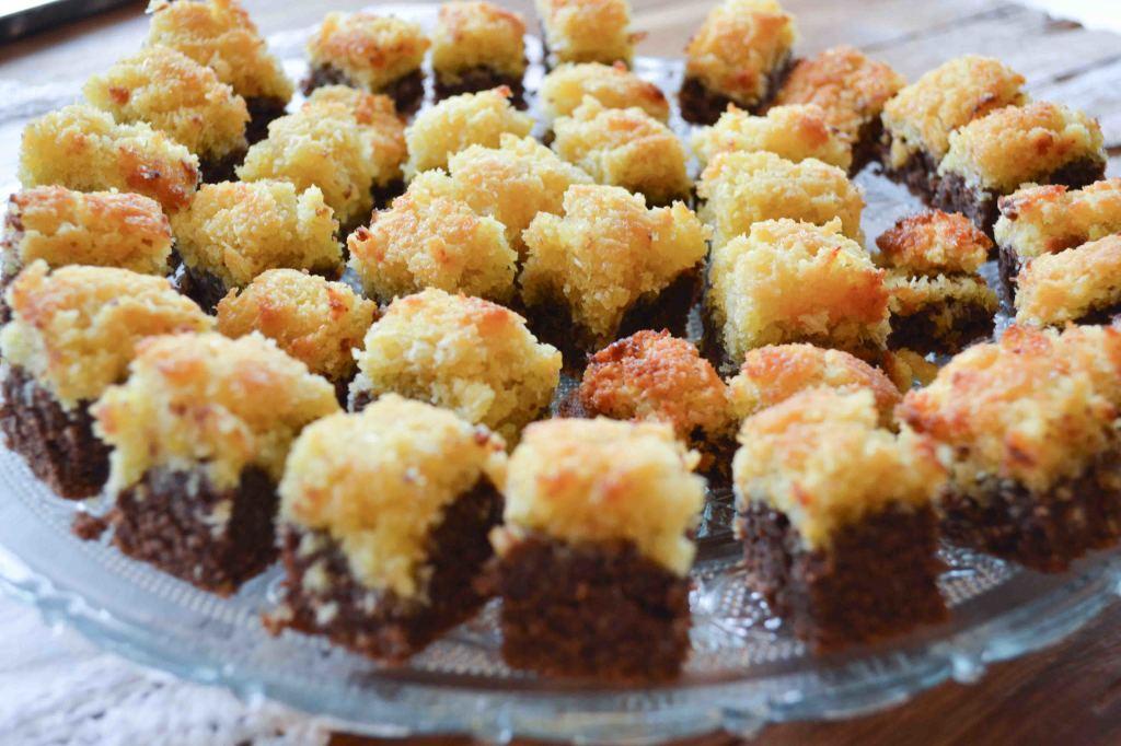 Kokos Brownie Kekse 5