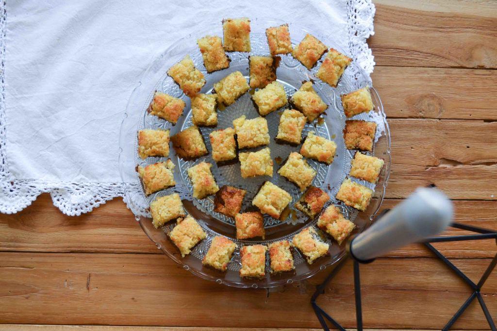 Kokos Brownie Kekse 6